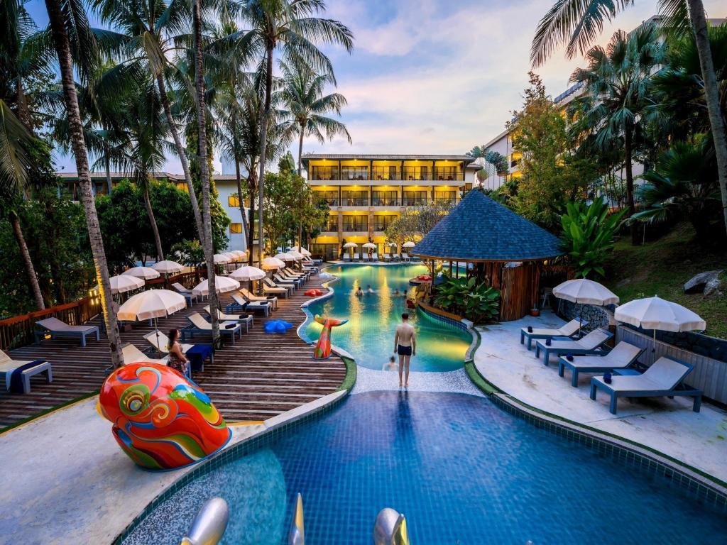 Peach Hill Hotel Resort Phuket Thailand