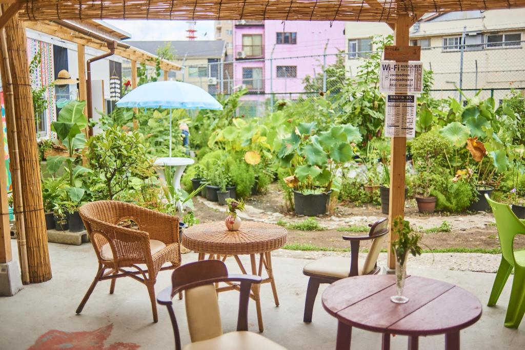 Hotelbewertungen vom Cocoroom Cafe Garden Guest House Osaka ...