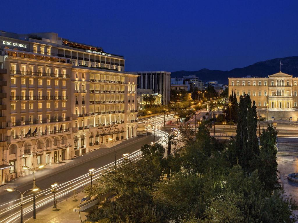 Best price on king george a luxury collection hotel athens for Best value luxury hotels