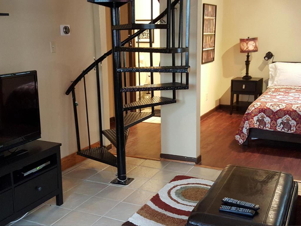 两卧室阁楼套房 双卧室复式公寓 - 邻会议中心 (two bedroom loft con图片