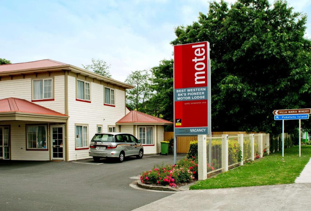 0f2be7a1a8f Best Western BKs Pioneer Motor alojamiento Hotel (Best Western BKs ...