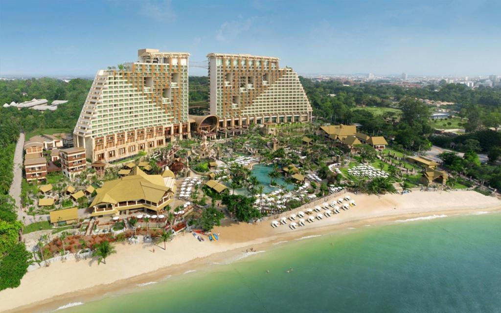 More About Centara Grand Mirage Beach Resort