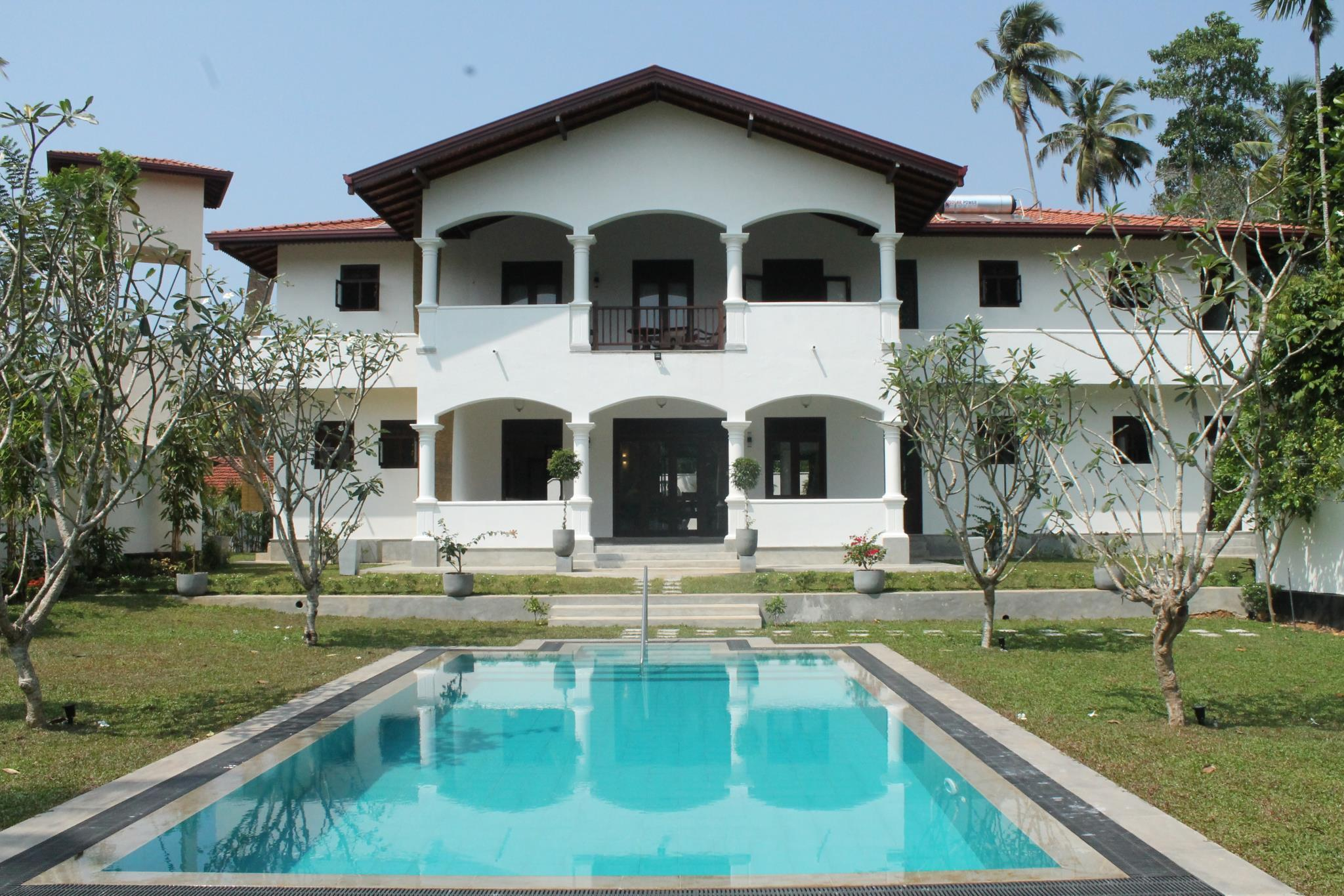 别墅-带独立泳池 (villa with private pool)