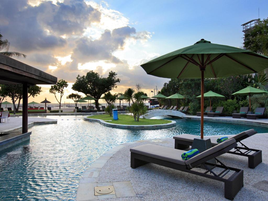 The tanjung benoa beach resort bali