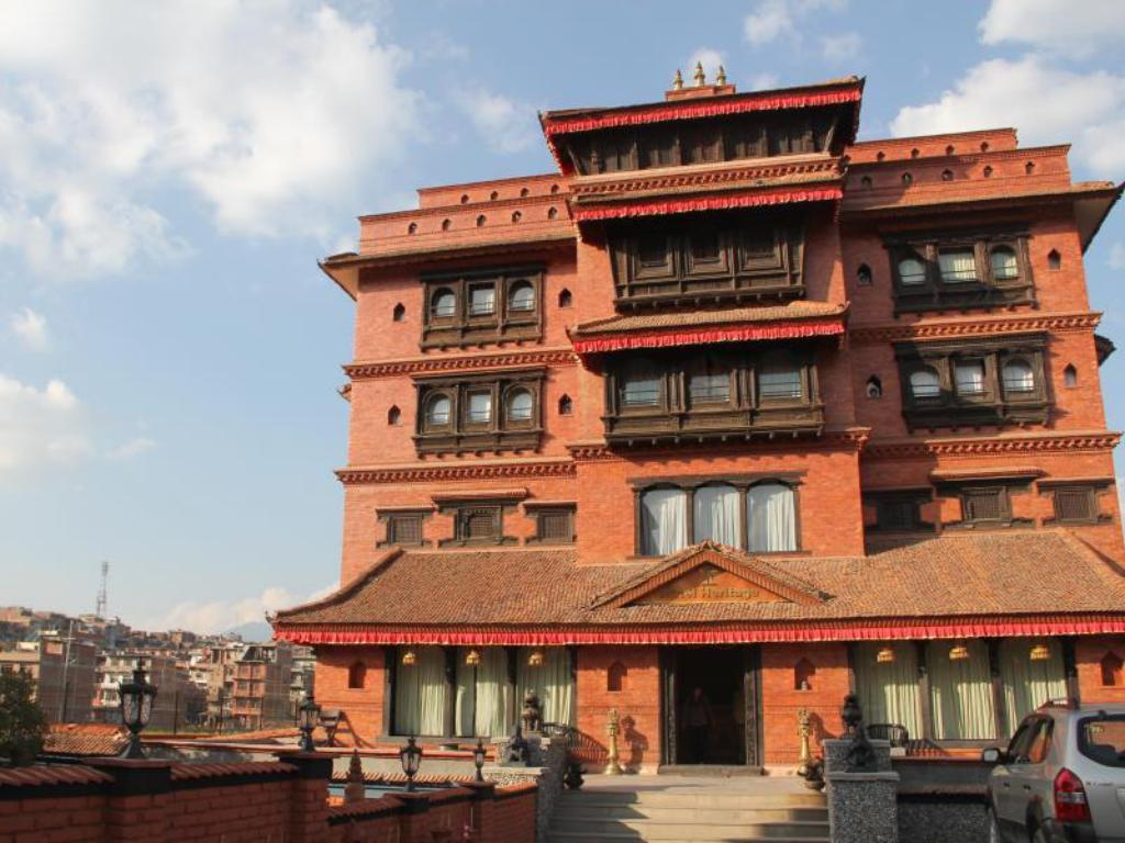 Image result for hotel heritage bhaktapur