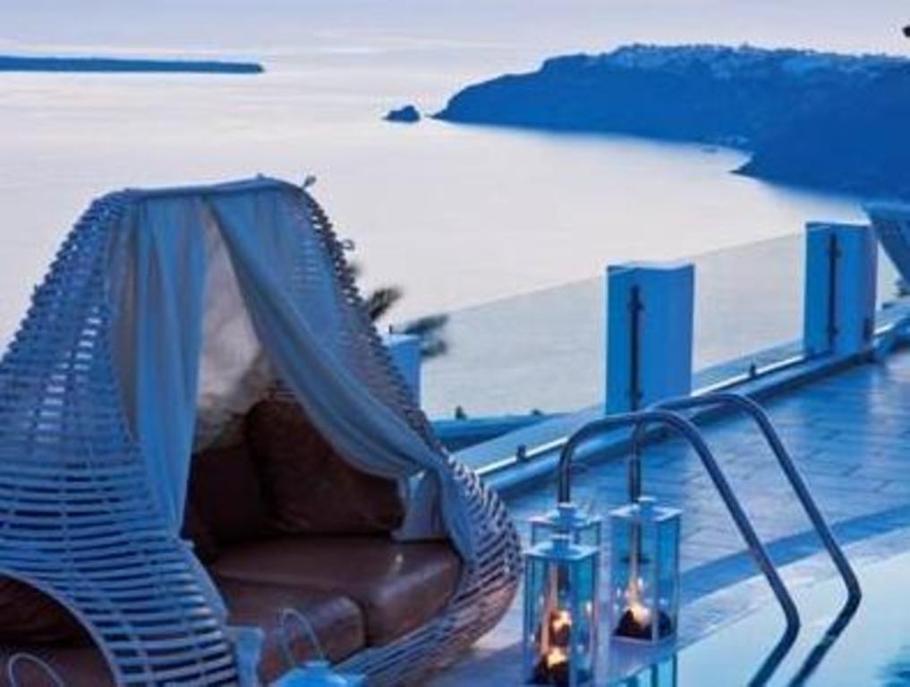 Santorini Greece Hotel Swimming Pool In The Room