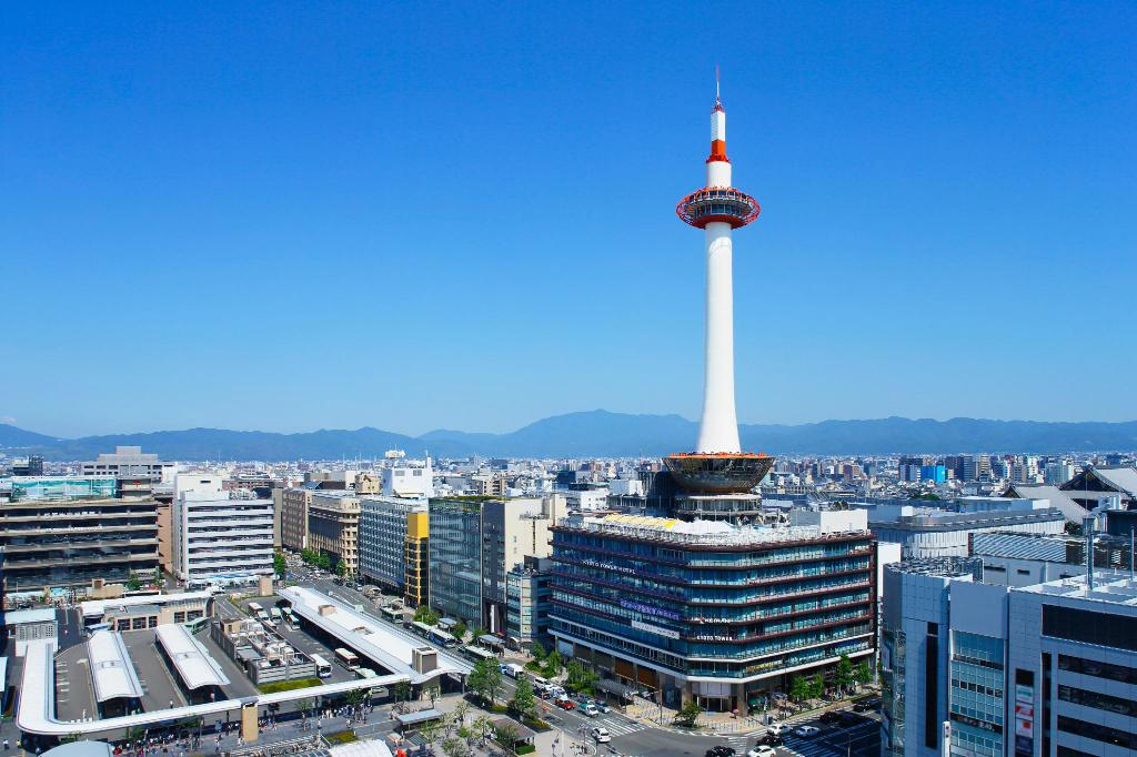 Kyoto Tower Hotel In Japan