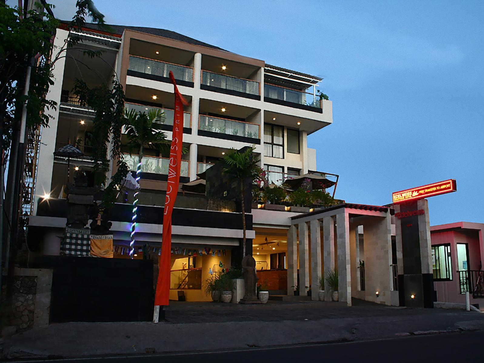 The Edelweiss Boutique Hotel Kuta With Agoda Bali
