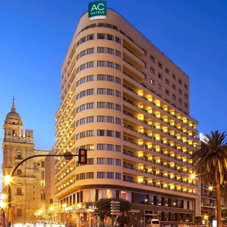 Best price on ac hotel malaga palacio by marriott in for Hotel malaga premium