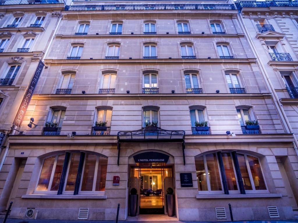 Hotel Rue Pergolese Paris