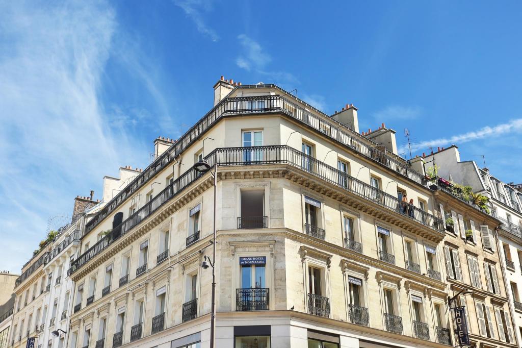 Hotel Reviews Of Le Grand Hotel De Normandie Paris France Page 1