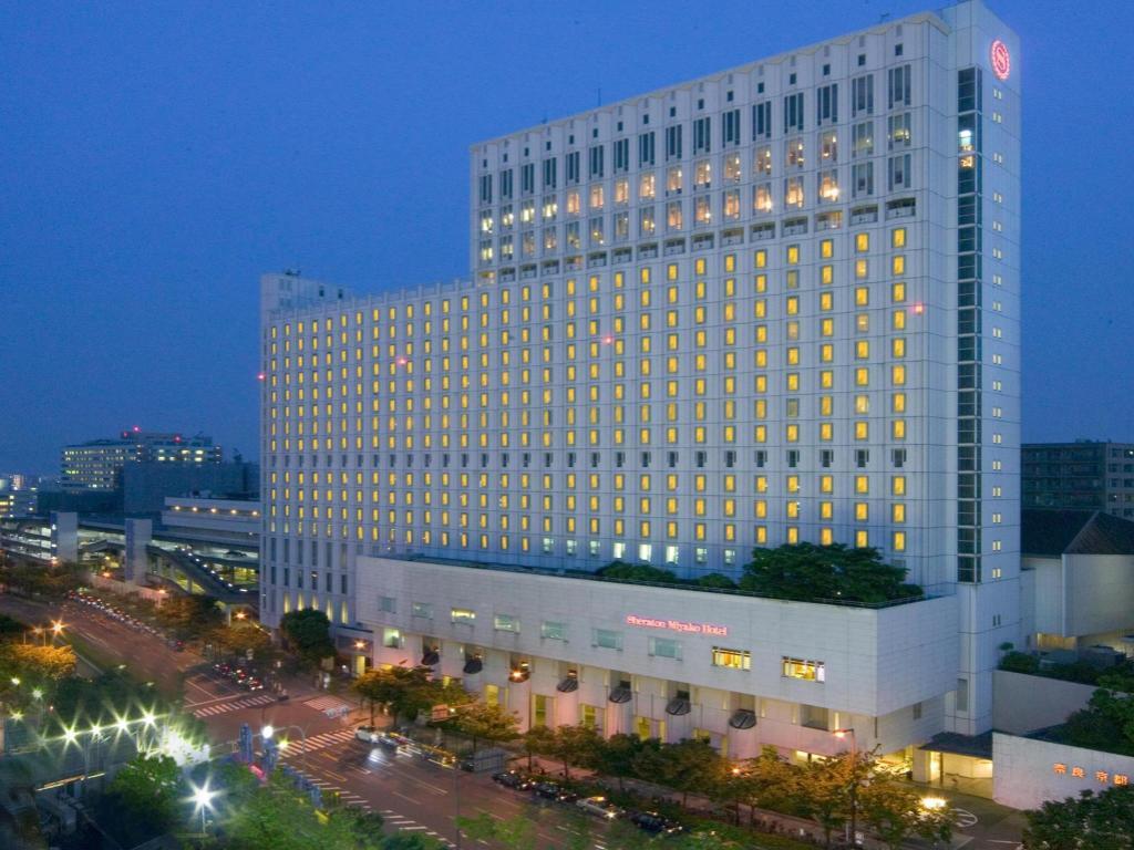 大阪都喜来登酒店 Sheraton Miyako Hotel Osaka 豪华型 预订优惠价格 地址位置 联系方式