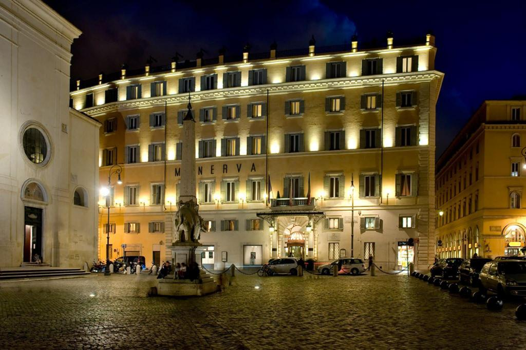 Best terrazza hotel minerva roma gallery idee for Top design hotels rome