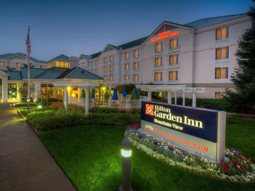 Best Price On Hilton Garden Inn Mountain View Hotel In San Jose Ca Reviews