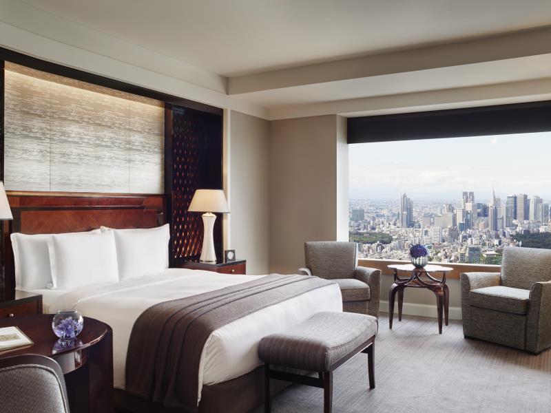 Ritz Carlton Tokyo  Double Beds