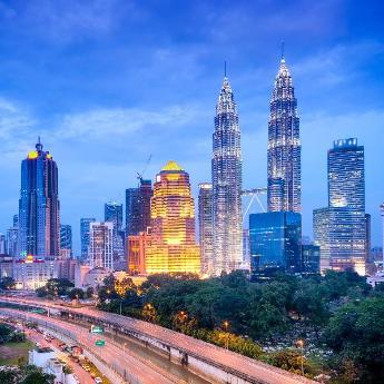 Kuala Lumpur, 9345 hotels