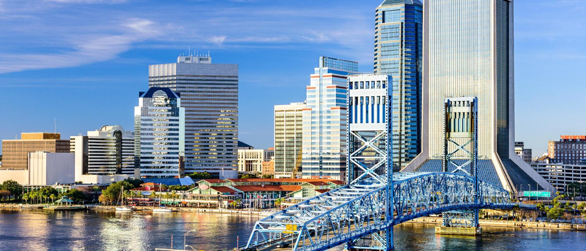 Map Of Hotels In Jacksonville Florida Jacksonville Beach Map and Hotels in Jacksonville Beach Area