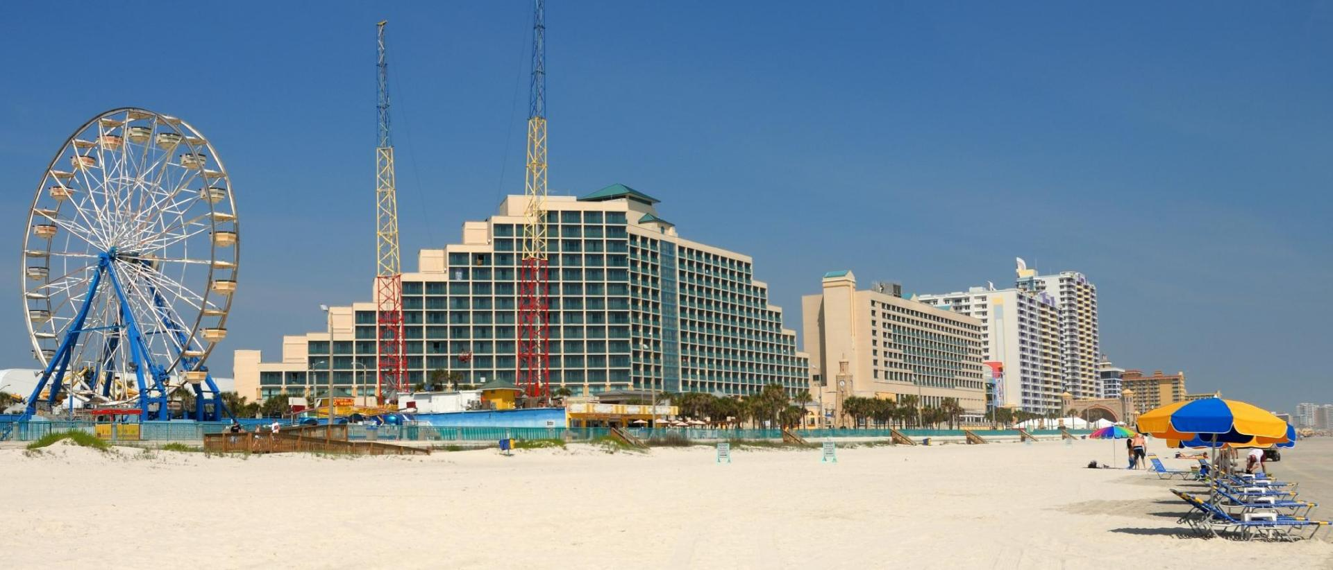 Daytona Beach City Center Map And