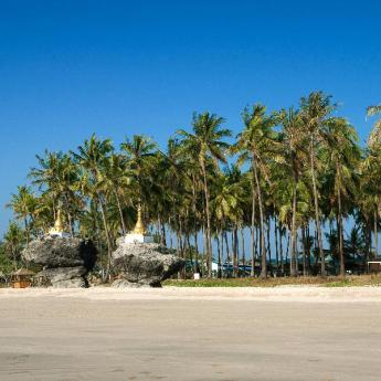 Plaja Ngwesaung Hoteluri, 34 hoteluri