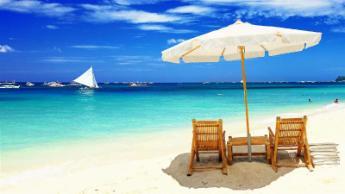 Ostrov Boracay, Filipíny