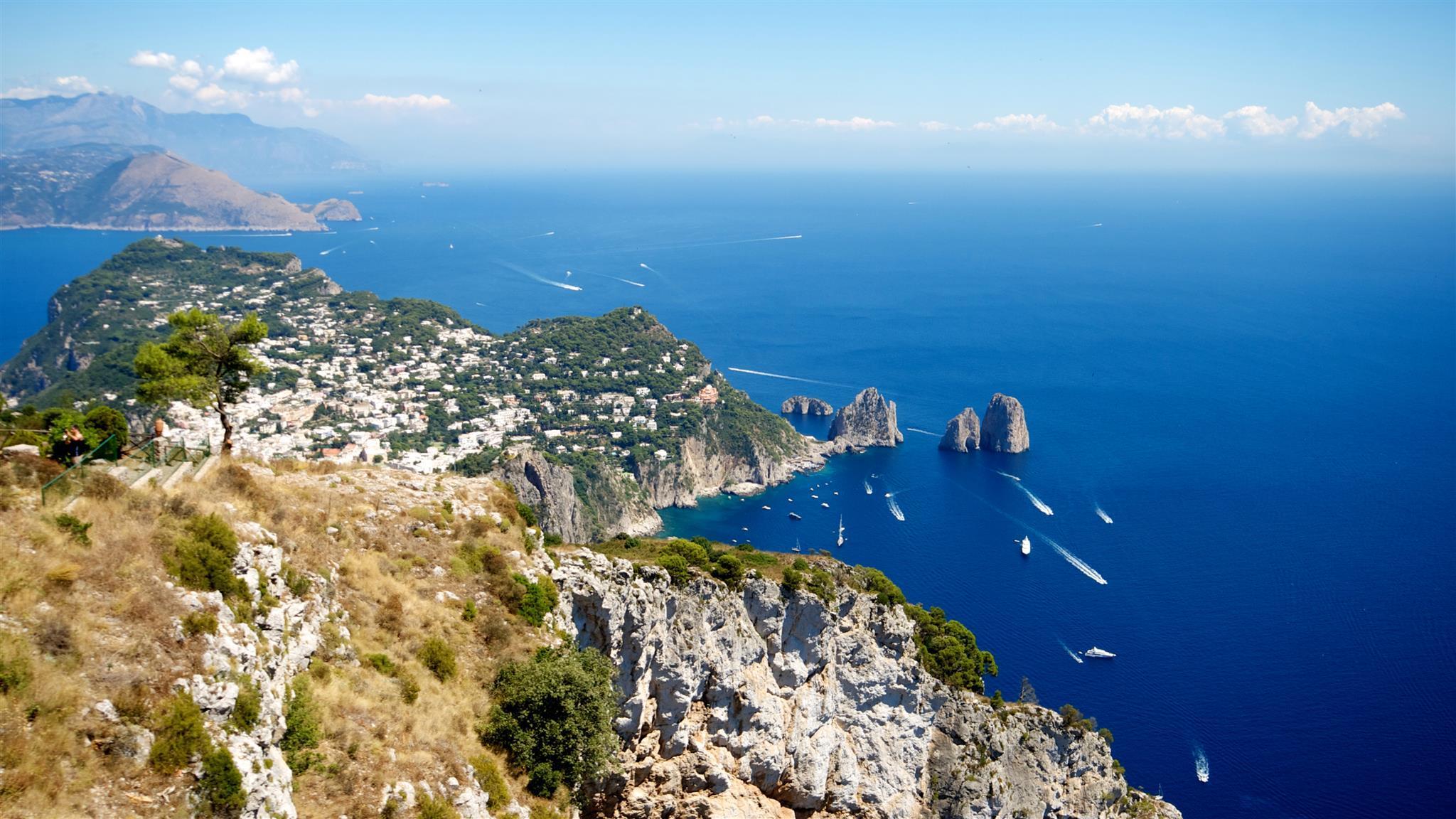 Capri and Anacapri Full Day Trip from Naples