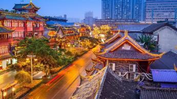Chengdu, Cina