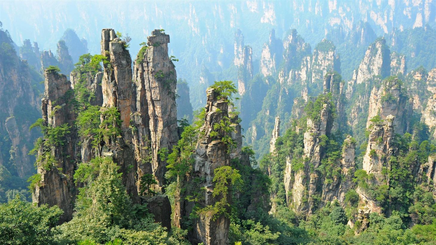 Résultats de recherche d'images pour «Zhangjiajie»