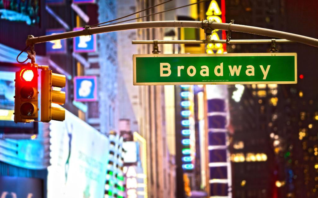 Broadway - a 1.7 km del alojamiento Wawa Realty Manhattan 1