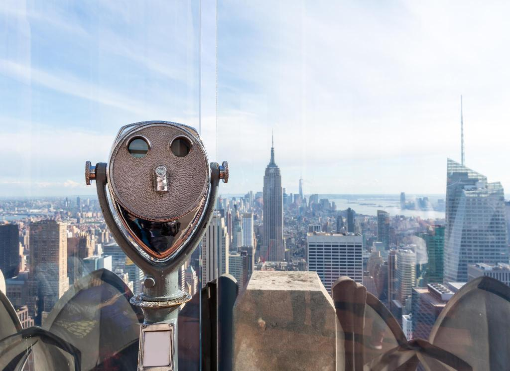 Top of the Rock novērošanas klājs - 1.6 km no naktsmītnes EVEN Hotels New York - Times Square South