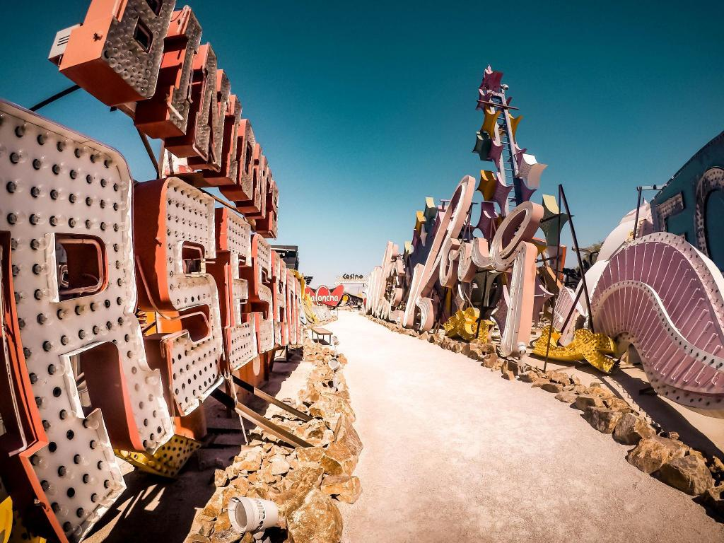 Neon Museum - 6.24 km from property TRUMP TOWER HIGH FLOOR STRIP VIEW STUDIO