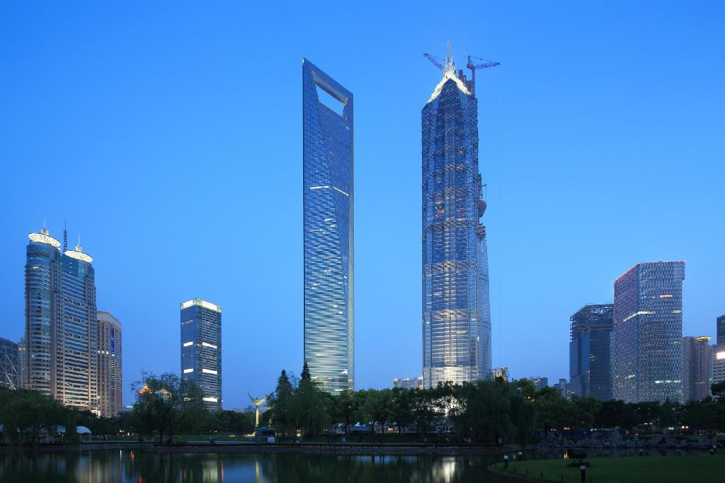 Shanghai World Financial Center - 3,89 km od ubytování Tongyu Cottage