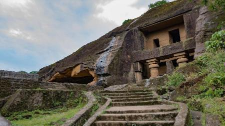 Kanheri Caves - 9.41 km from property OYO Apartments IIT Bombay