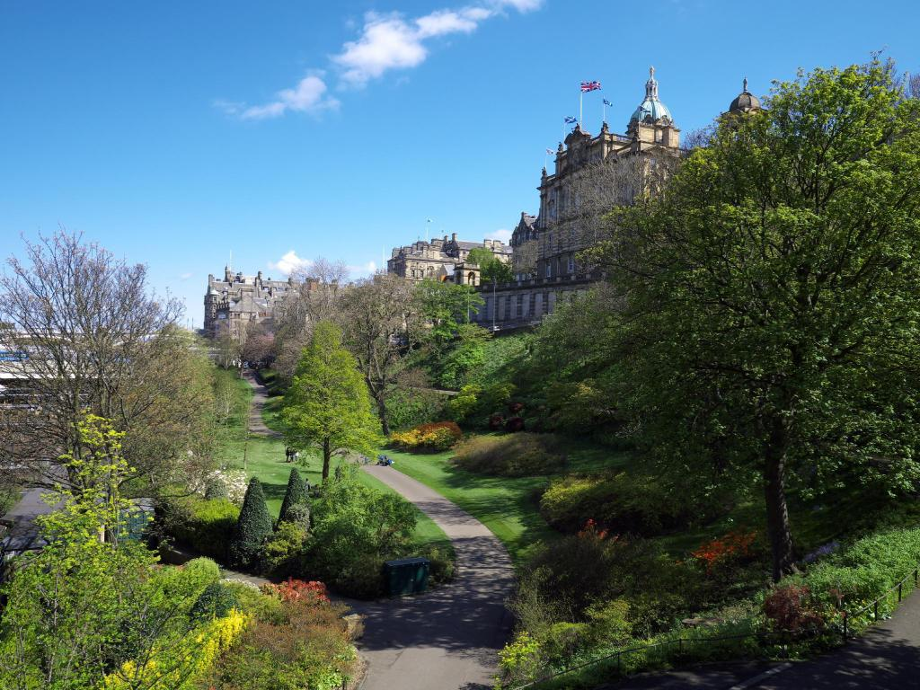 Princes Street Gardens - 760 m from property Bellevue Eleven Guest House