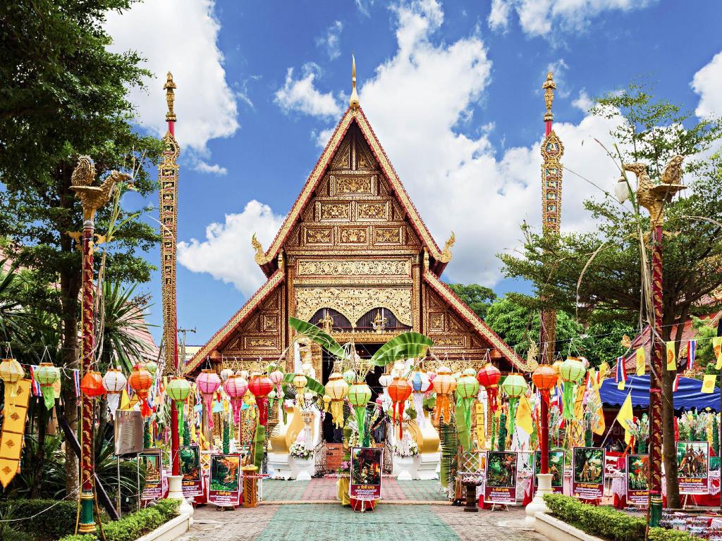 Wat Phra Singh - 580 m from property Kanlaya Place