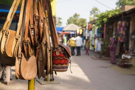 Dilli Haat Market - 1.53 km from property A 3 S Lodge