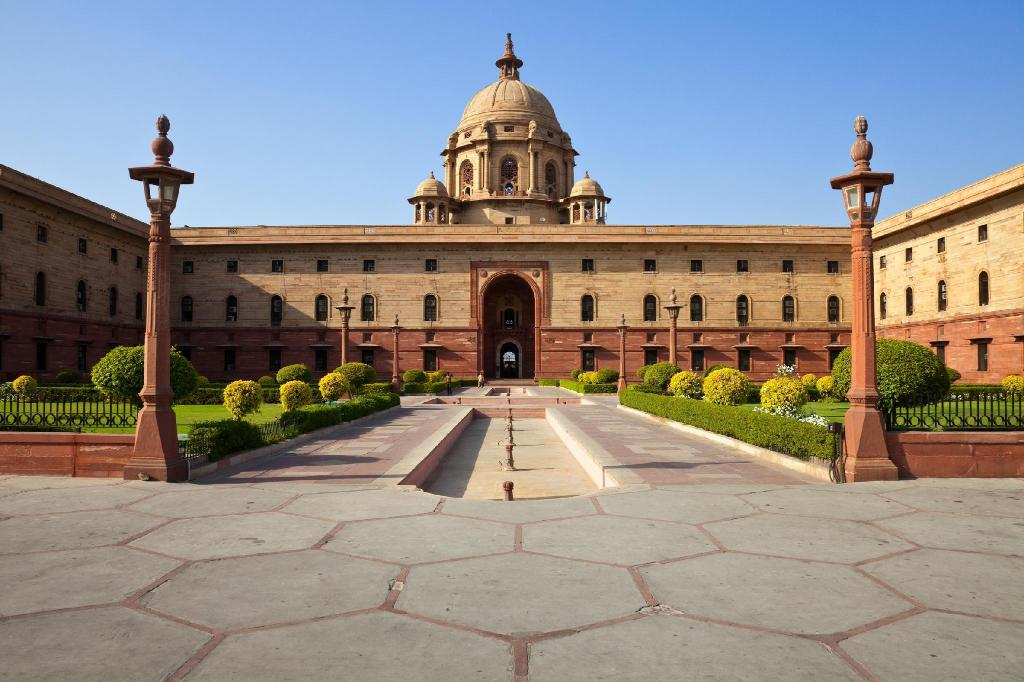 Rashtrapati Bhavan - 6.14 km from property A 3 S Lodge