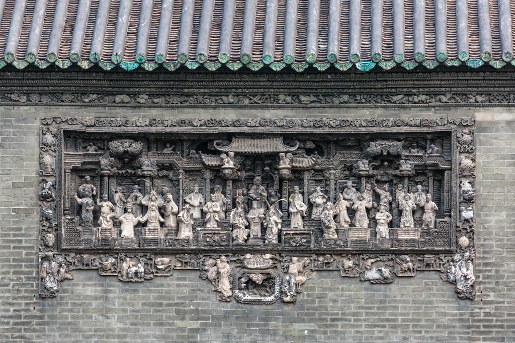 Chen Clan Ancestral Hall (Guangdong Folk Art Museum) - 7.12 km. fra ejendommen Vienna International Hotel Sun Yat-sen University of Guangzhou
