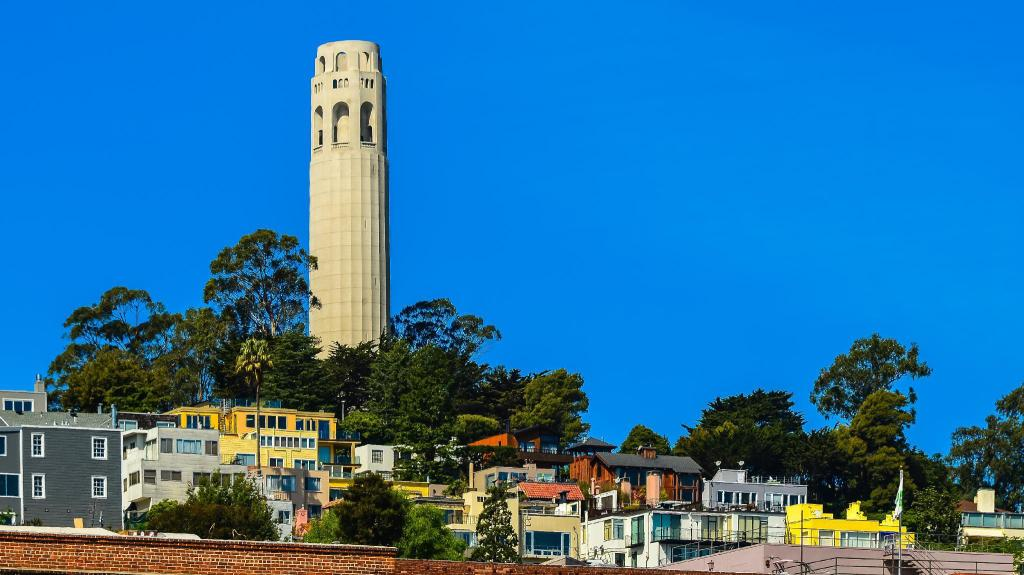 Coit Tower - 2.09 km from property Courtyard San Francisco Downtown