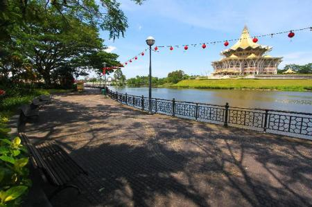 Kuching Esplanade - 2.79 km from property Culture Inn