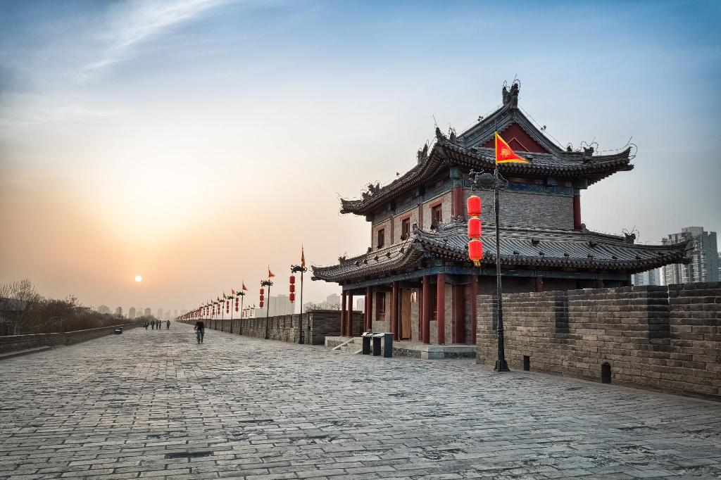 Xi'an City Wall (Chengqiang) - 1.7 km from property Li Mian International Hostel