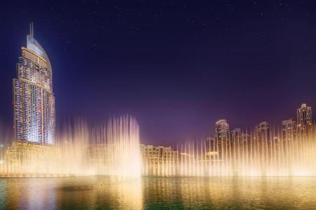 Dubai Fountains - 810 m from property Downtown Luxury Apartments