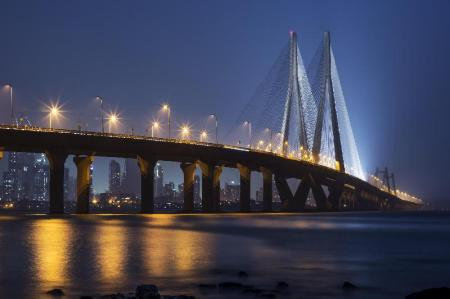 Bandra-Worli Sea Link - 3.67 km from property OYO Rooms Dadar Railway Station