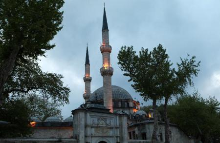 Eyup Sultan Mosque (Eyup Sultan Camii) - 9.44 km from property Rental House Istanbul Bakirkoy Flat