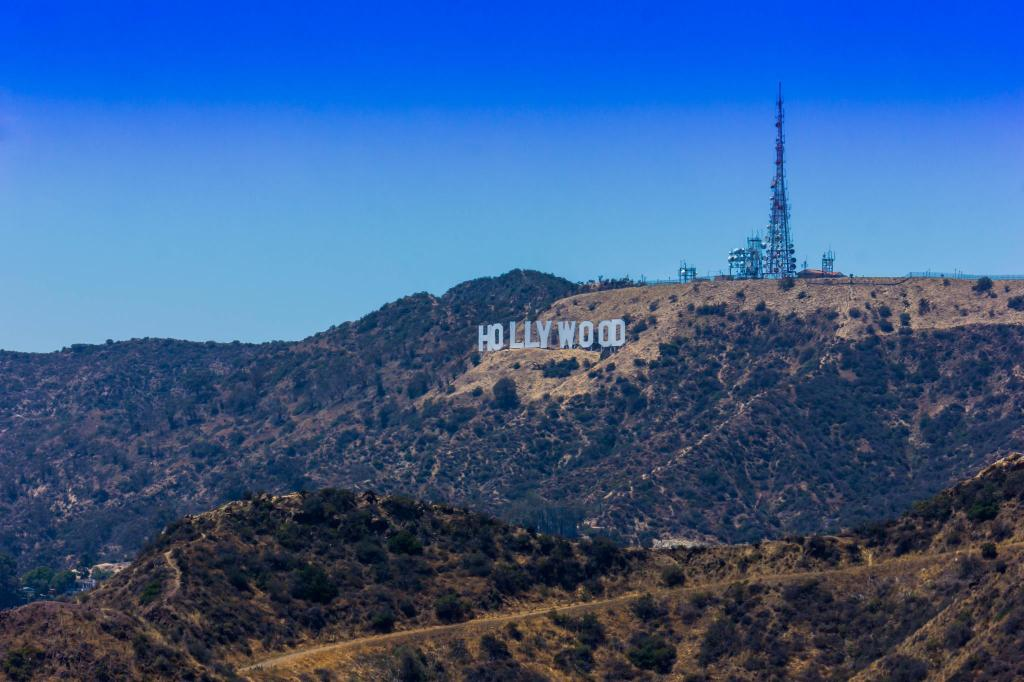 The Hollywood Sign - 7.7 km from property Los Angeles Marriott Burbank Airport