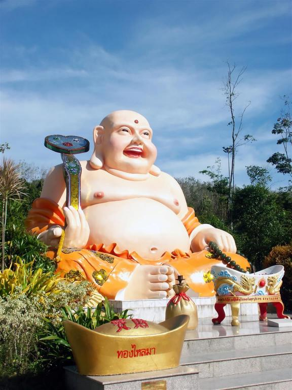 Statue of Laughing Buddha - 6.28 km from property