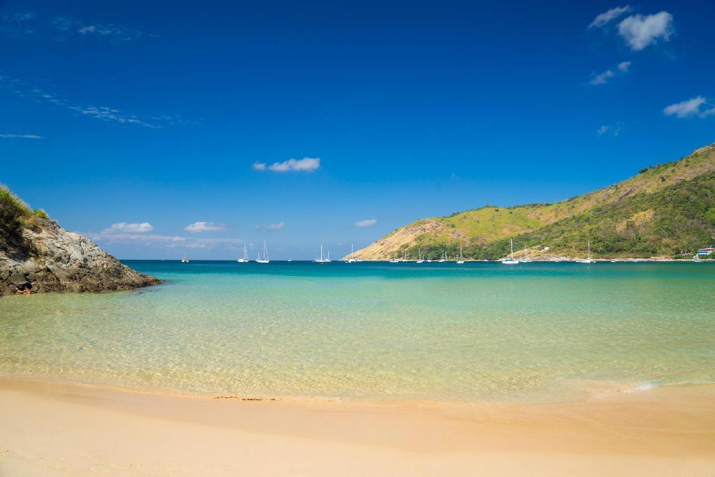 Nai Harn Beach - 9.47 km from property Sutisa Hot Yoga Connection