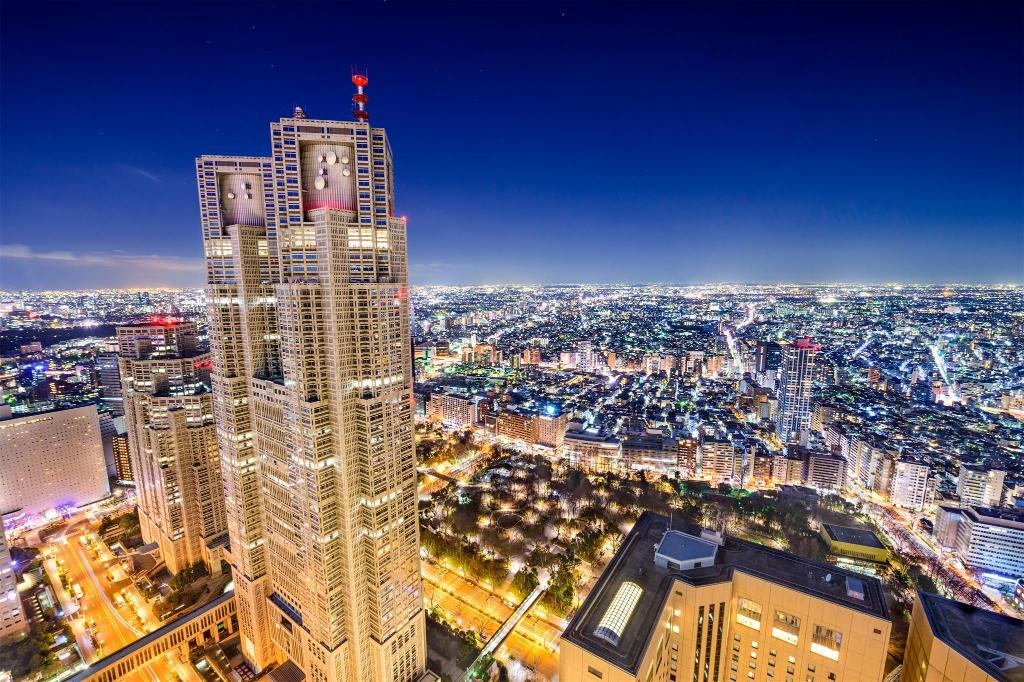 Tokyo Metropolitan Government Buildings - 1.28 km from property Shinjuku Faminect Apartment FN032 907