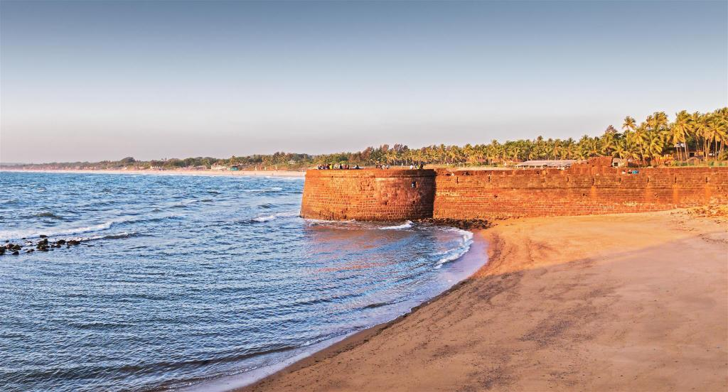 Candolim Beach - 1,61 km von der Unterkunft Reliance Holiday Homes