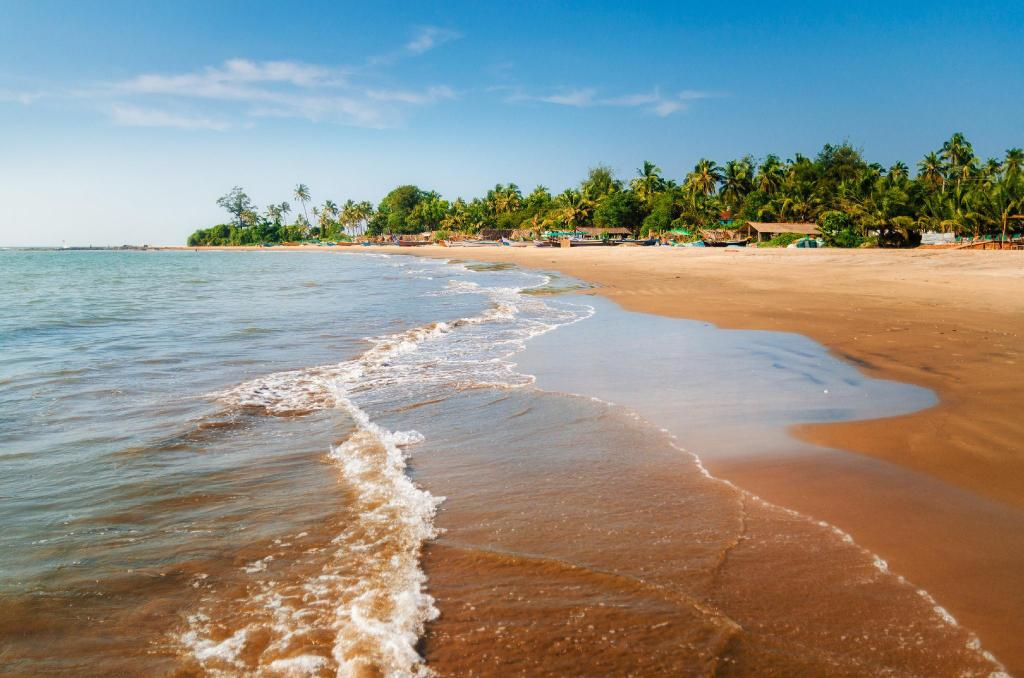 Morjim Beach - 8.15 km from property Hotel Plantain Leaf