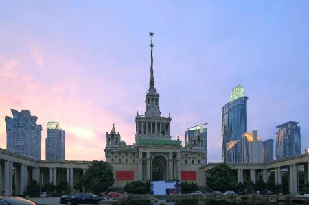 Shanghai Exhibition Center - 4.7 km from property JadeLink Hotel Shanghai